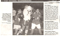 Kylee and Keylsy Soccer - Newspaper Article